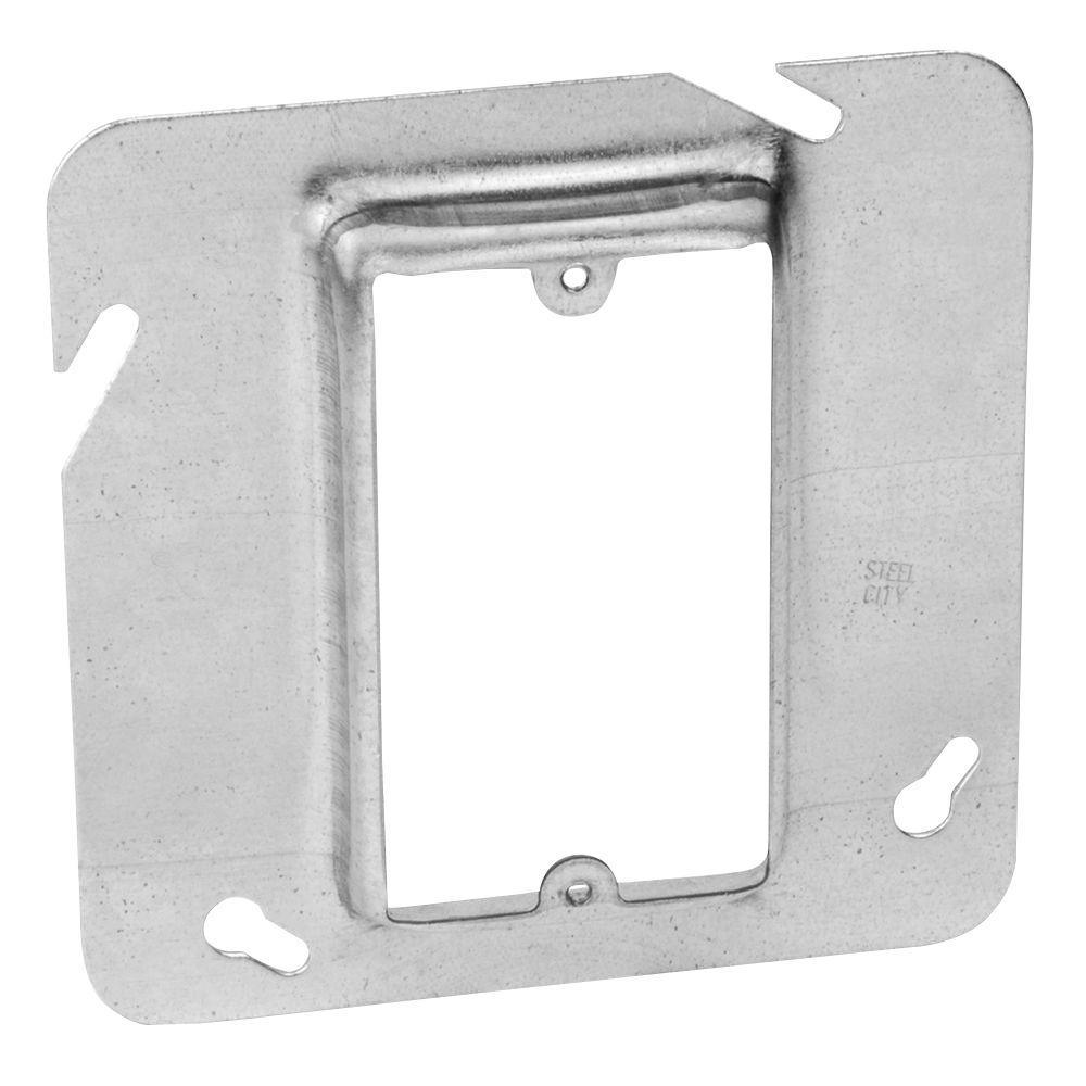 4-11/16 in. Pre-Galvanized Steel Square Cox Device Cover (25-Pack per Case)
