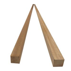 2 in. x 2 in. x 8 ft. African Mahogany S4S Board (2-Pack)