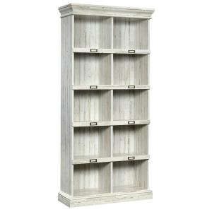 Barrister Lane White Plank Tall Cubbyhole Bookcase