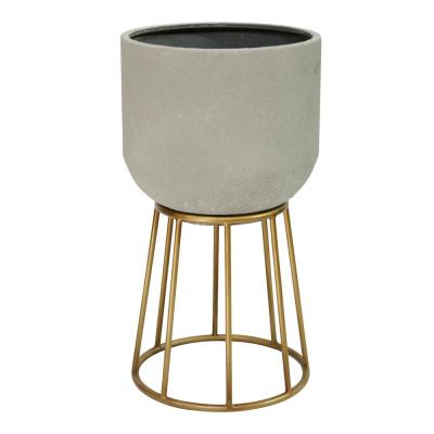 17.8 in. Multi-Color Soho Metal Plant Stand