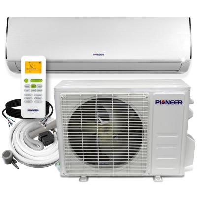 Pioneer 12 000 Btu 1 Ton 19 Seer Ductless Mini Split Air Conditioner Heat Pump Variable Speed Dc Inverter System 110 120v Wys012amfi19rl 16 The Home Depot