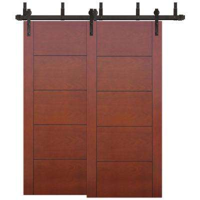 Byp 5 Panel Solid Core Primed Pine Wood