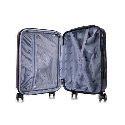 Crypto 20 in. Carry-On Lightweight Hard Side Spinner
