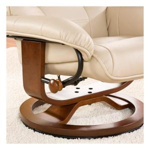 Pleasant Southern Enterprises Taupe Leather Reclining Chair With Uwap Interior Chair Design Uwaporg