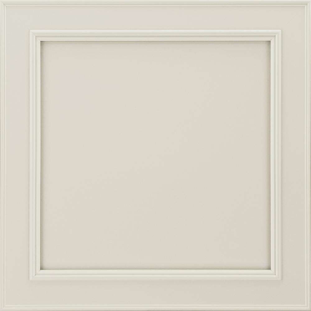 14-9/16 x 14-1/2 in. Cabinet Sample Door in Brookland Painted Ember Glaze