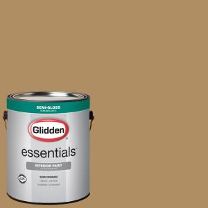 Behr Marquee 5 Gal 310d 7 Mayan Gold Semi Gloss Enamel Exterior Paint And Primer In One 545305 The Home Depot