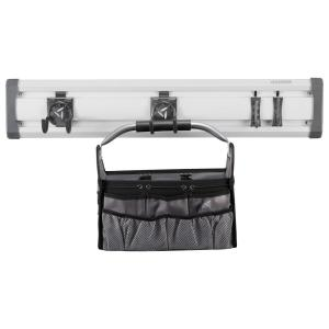 32 in. L GearTrack Gardening Garage Wall Storage Kit with 4-Hooks and Project Bag