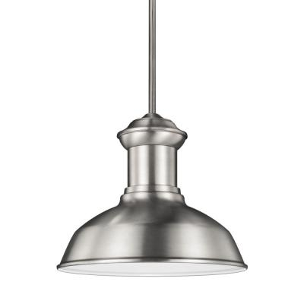 Fredricksburg 1-Light Satin Aluminum Pendant