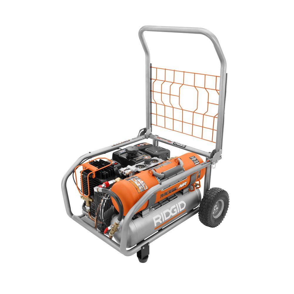 Ridgid 8-Gal. Gas-Powered Air Compressor