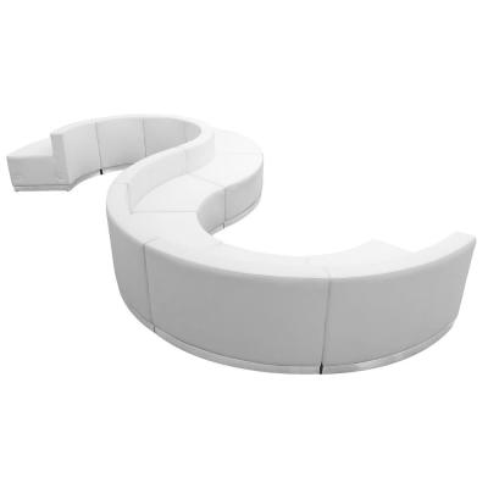 9-Piece Melrose White Living Room Sets