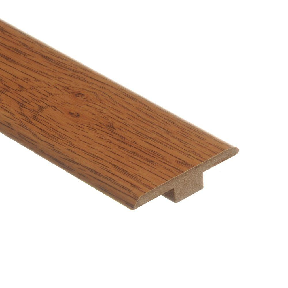 Zamma Ainsley Glentown Oak 7 16 In Thick X 1 3 4 Wide 72 Length Laminate T Molding 013220355 The Home Depot