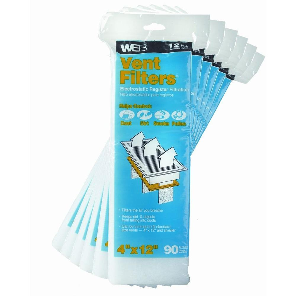 Web 20 in. x 25 in. x 1 in. Absorber Odor Control FPR 5 Air Filter ...