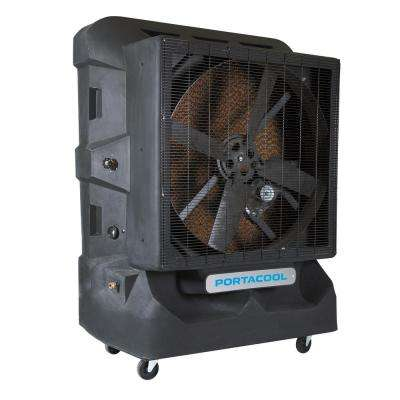 Cyclone 160 8000 CFM 1-Speed Portable Evaporative Cooler for 2100 sq. ft.