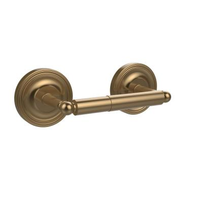 Regal Collection Double Post Toilet Paper Holder in Brushed Bronze