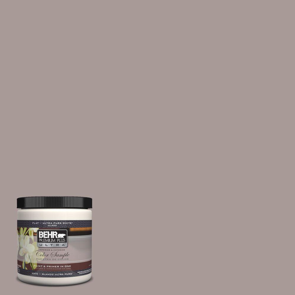 Ul250 8 Smoked Mauve Matte Interior Exterior Paint And Primer In One Sample