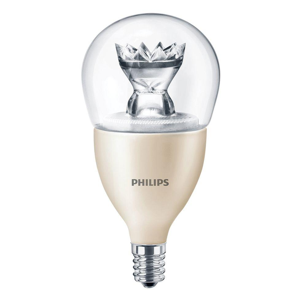 Philips 40W Equivalent Soft White (2700K) A15 Fan Dimmable LED Light Bulb (4-Pack)