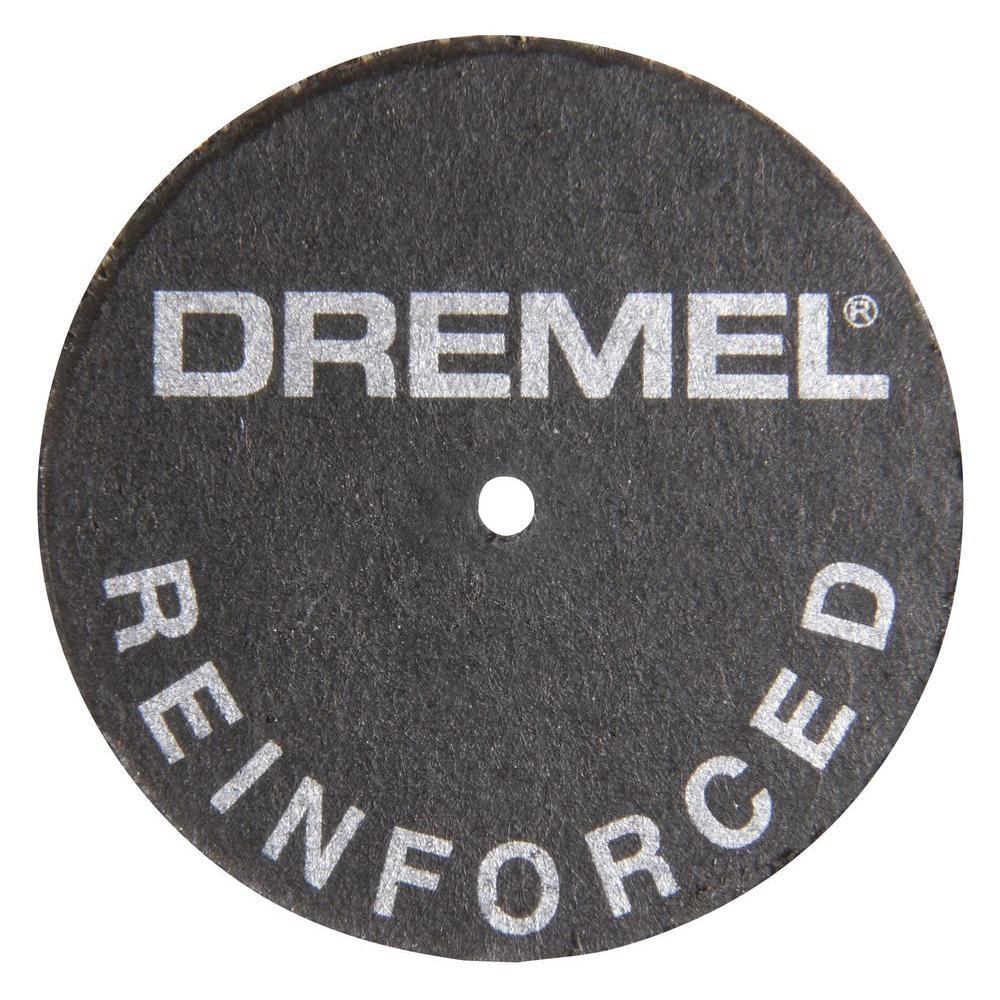 Dremel 1-1/4 in. Fiberglass - Reinforced Cut-Off Wheels for Cutting Metal Including Hardend Steel (5-Pack)