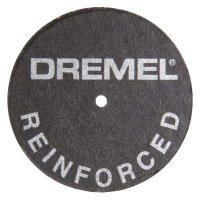 1-1/4 in. Fiberglass - Reinforced Cut-Off Wheels for Cutting Metal Including Hardened Steel (5-Pack)