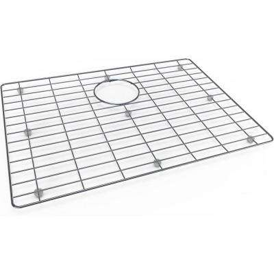 22.5 in. x 16.75 in. Stainless Steel Kitchen Sink Bottom Grid Fits Bowl Size