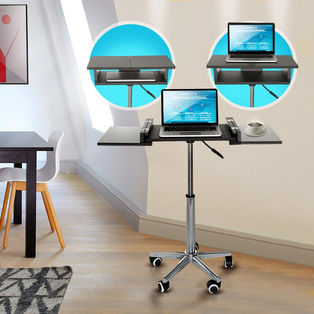 Null Graphite Folding Table Laptop Cart