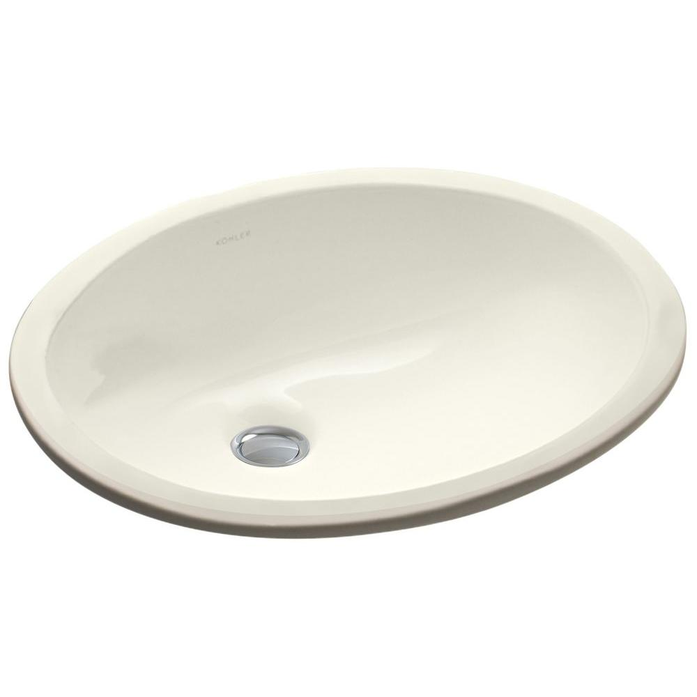 Kohler Caxton Vitreous China Undermount Bathroom Sink In