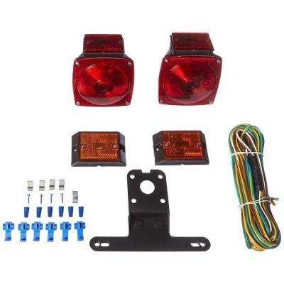 12-Volt Incandescent Trailer Light Kit for Trailers Under 80 in.