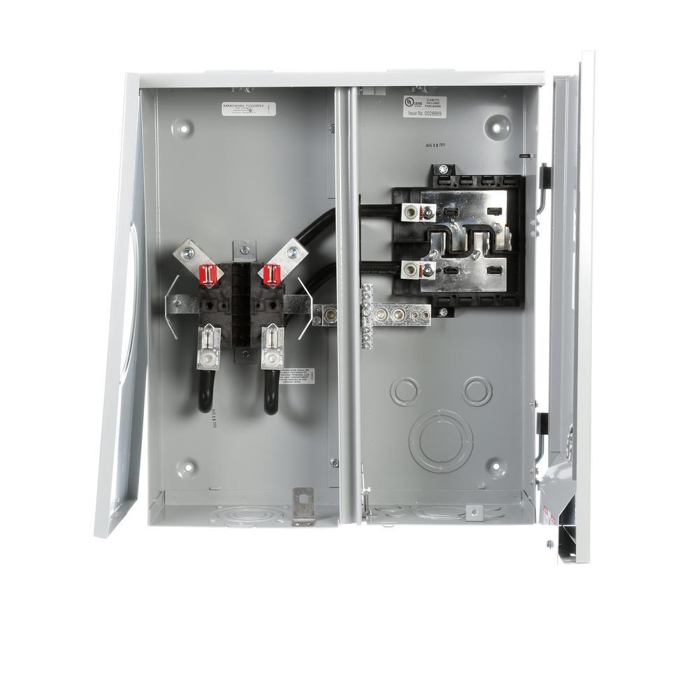 siemens 200 amp 4-space 6-circuit main lug metermain ... wiring a meter can wiring a meter combo