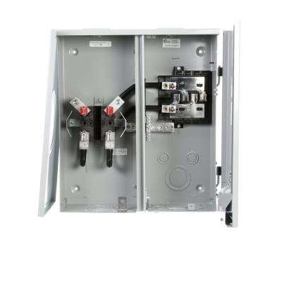 200 Amp 4-Space 6-Circuit Main Lug Metermain Combination with Ringless Cover