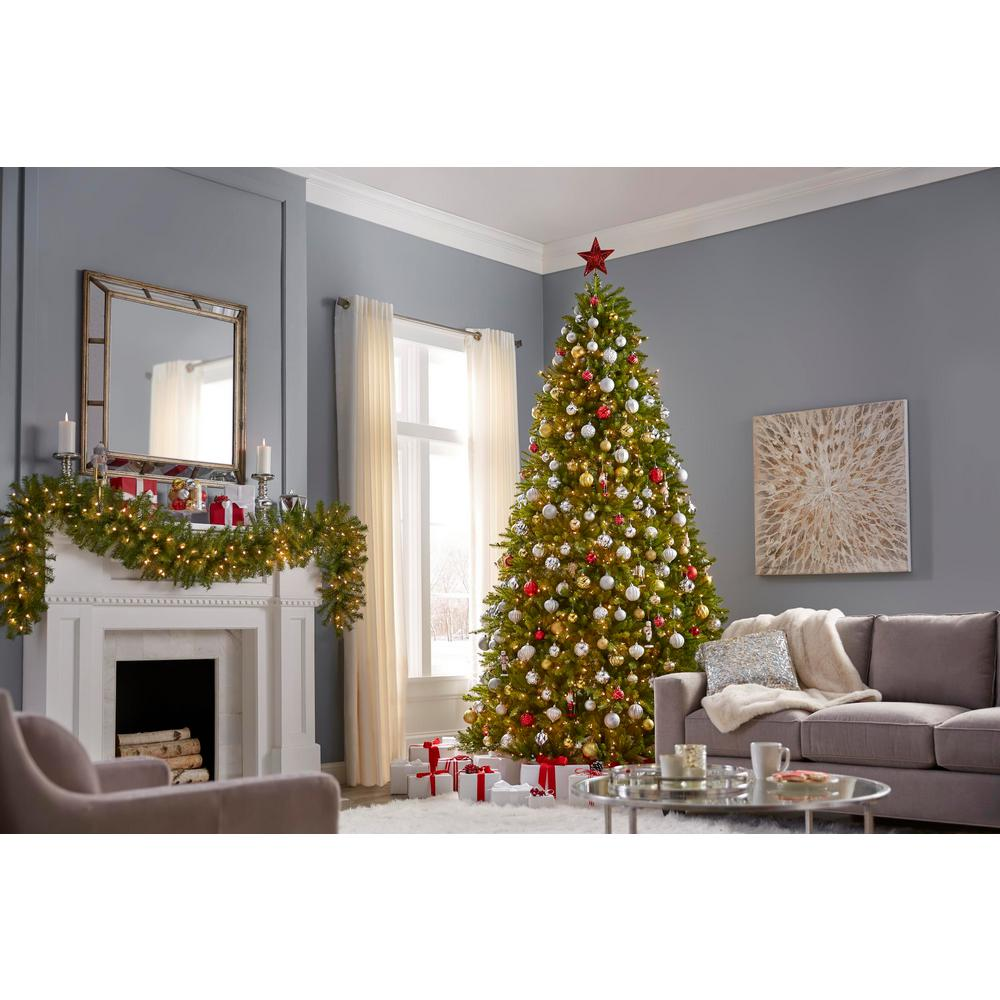 12 Foot Christmas Tree.Home Accents Holiday 12 Ft Dunhill Fir Artificial Christmas Tree With 1500 Clear Lights