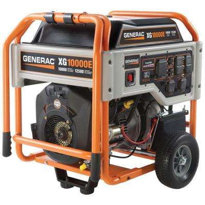 XG 10,000-Watt Gasoline Powered Electric Start Portable Generator