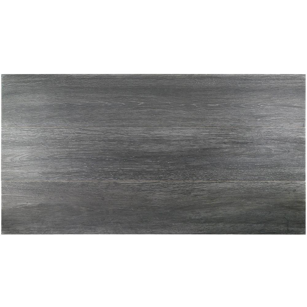 Ivy Hill Tile Helena Dark Gray 8 In X 45 In 10mm Natural Wood