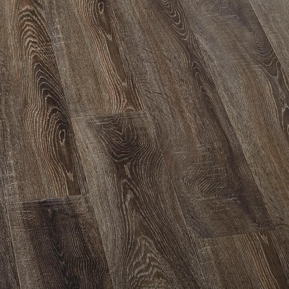Lifeproof Embossed Carbillo Oak Laminate Flooring 5 In X 7 Take Home
