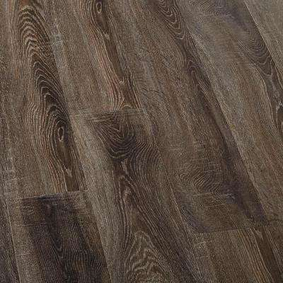 Embossed Carbillo Oak Laminate Flooring - 5 in. x 7 in. Take Home Sample