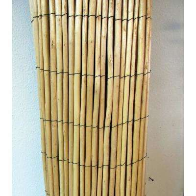4 ft. H x 8 ft. W Peeled Willow Fence Screen