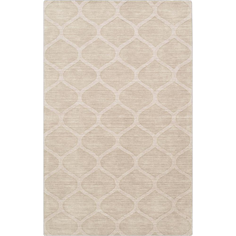 Graham Ivory 8 ft. x 11 ft. Indoor Area Rug