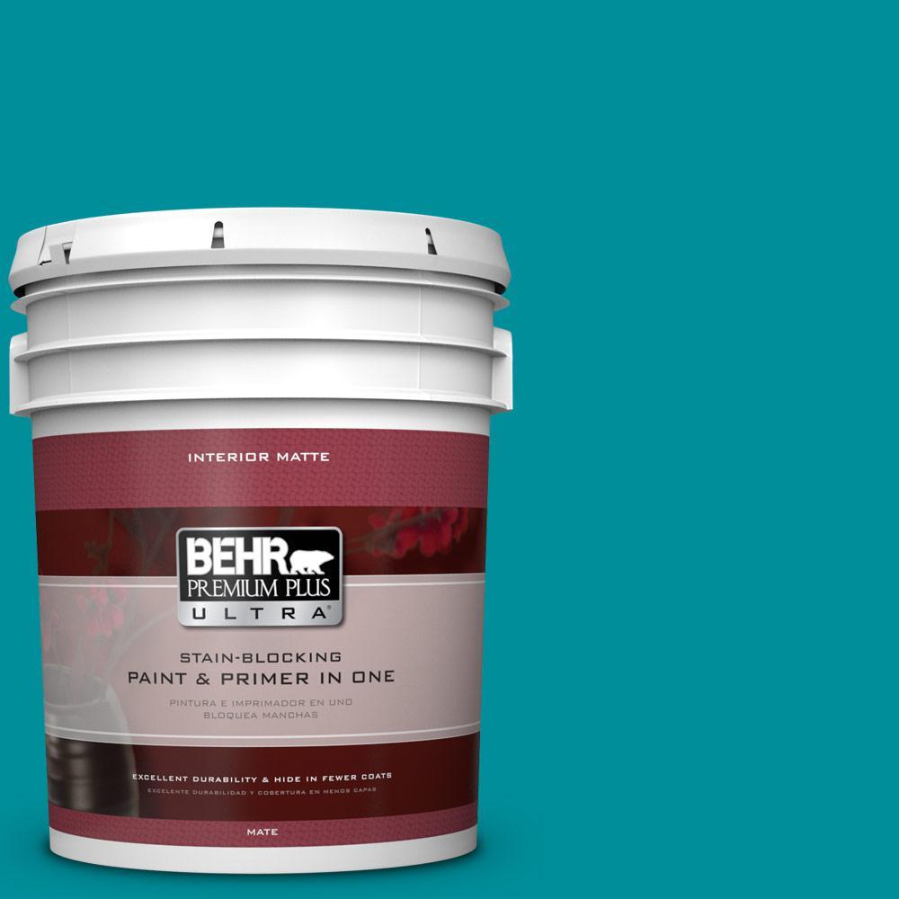 BEHR Premium Plus Ultra 5 gal. #P470-6 Bella Vista Matte Interior Paint