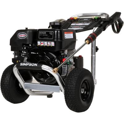 SIMPSON Aluminum ALH3225-S 3300 PSI at 2.5 GPM KOHLER SH265 Cold Water Pressure Washer