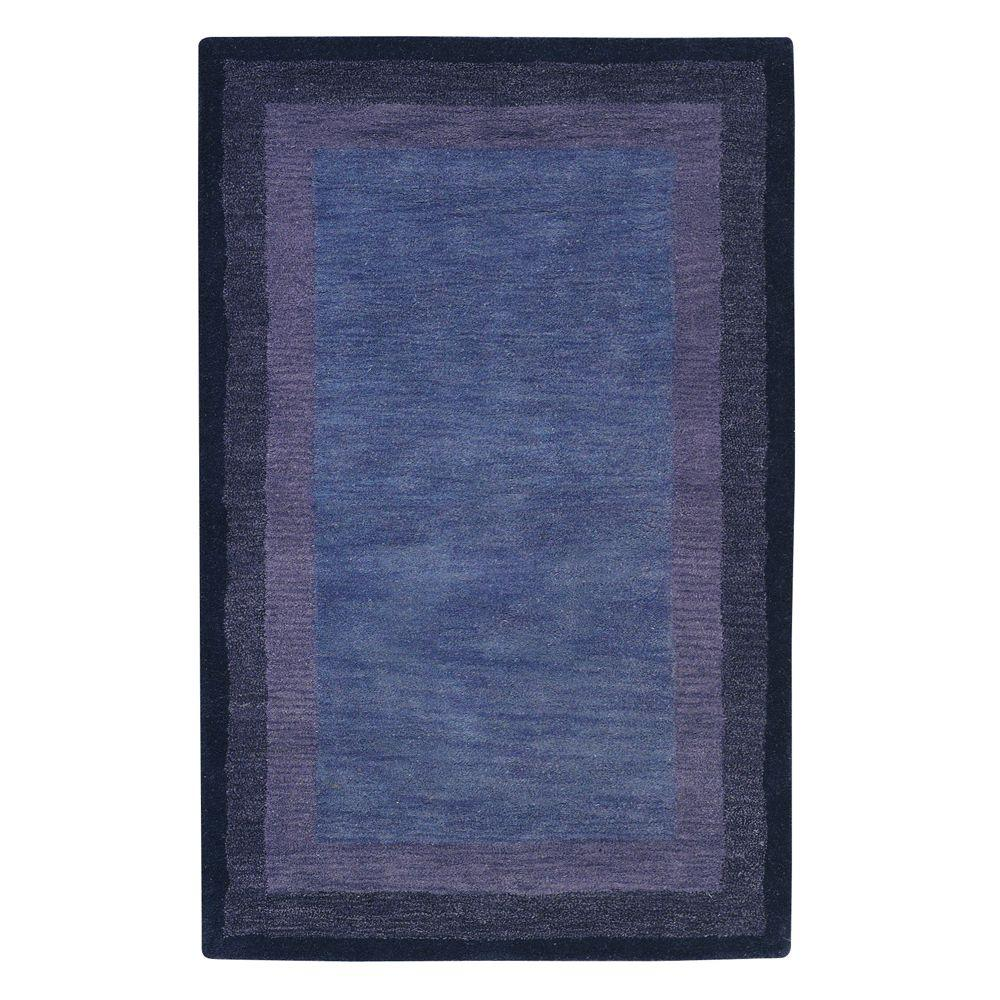 home decorators collection karolus blue 2 ft 6 in x 4 ft