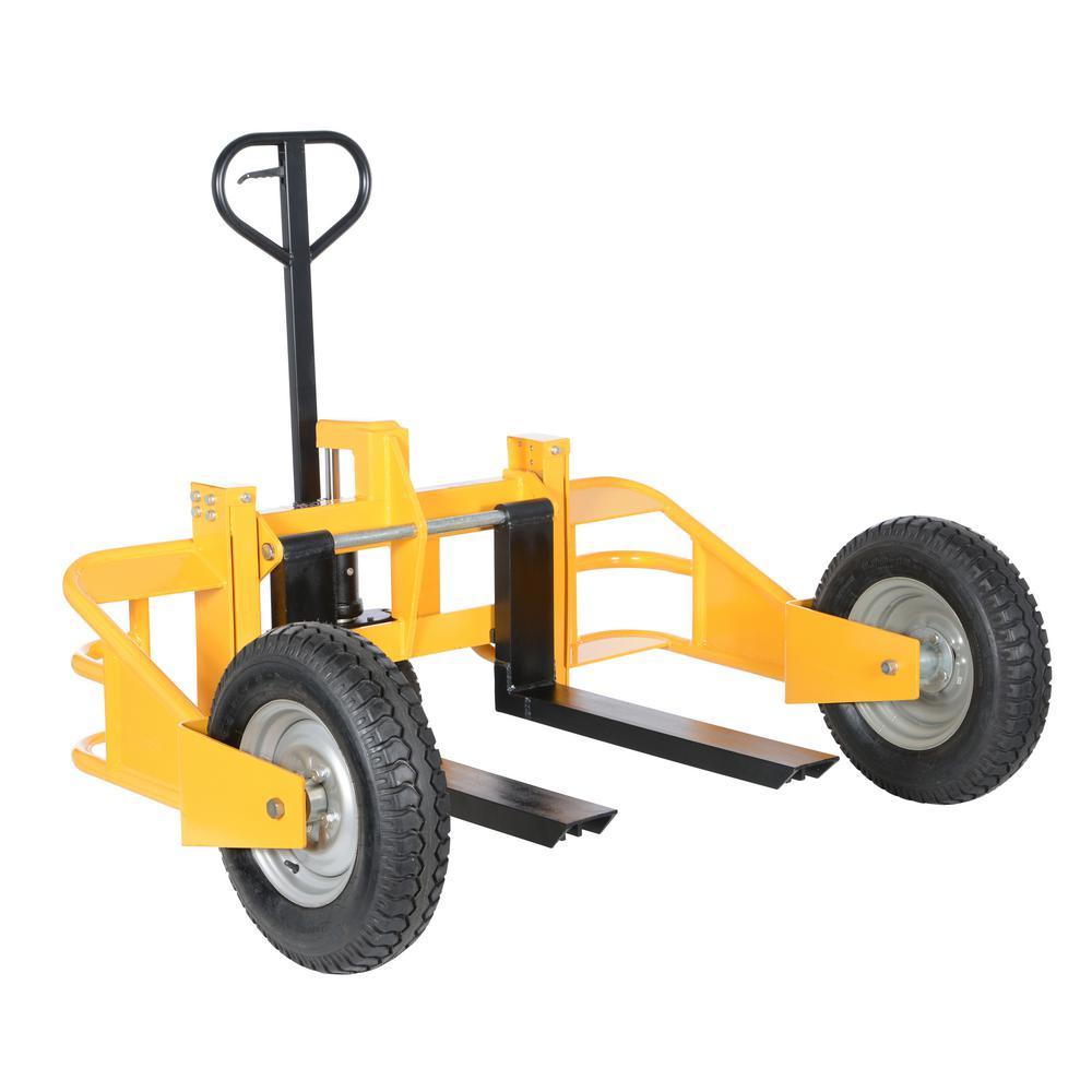 2,500 lbs. Capacity 50 in. Forks All-Terrain Pallet Truck - Heavy Duty