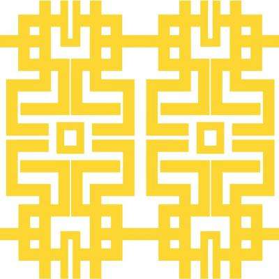 Peel Stick Geometric Yellow Wallpaper Home Decor The
