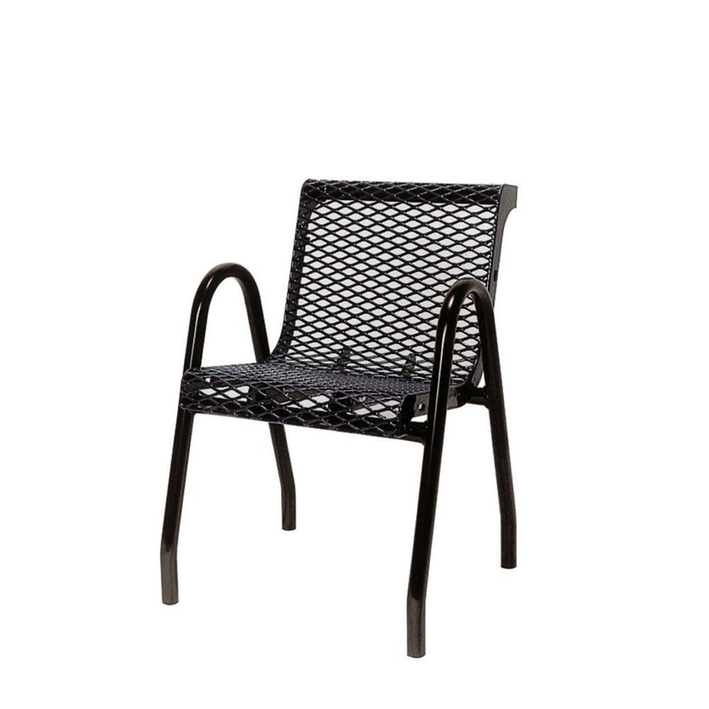 Ultra Play Black Commercial Park Chair