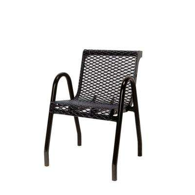 Black Commercial Park Chair