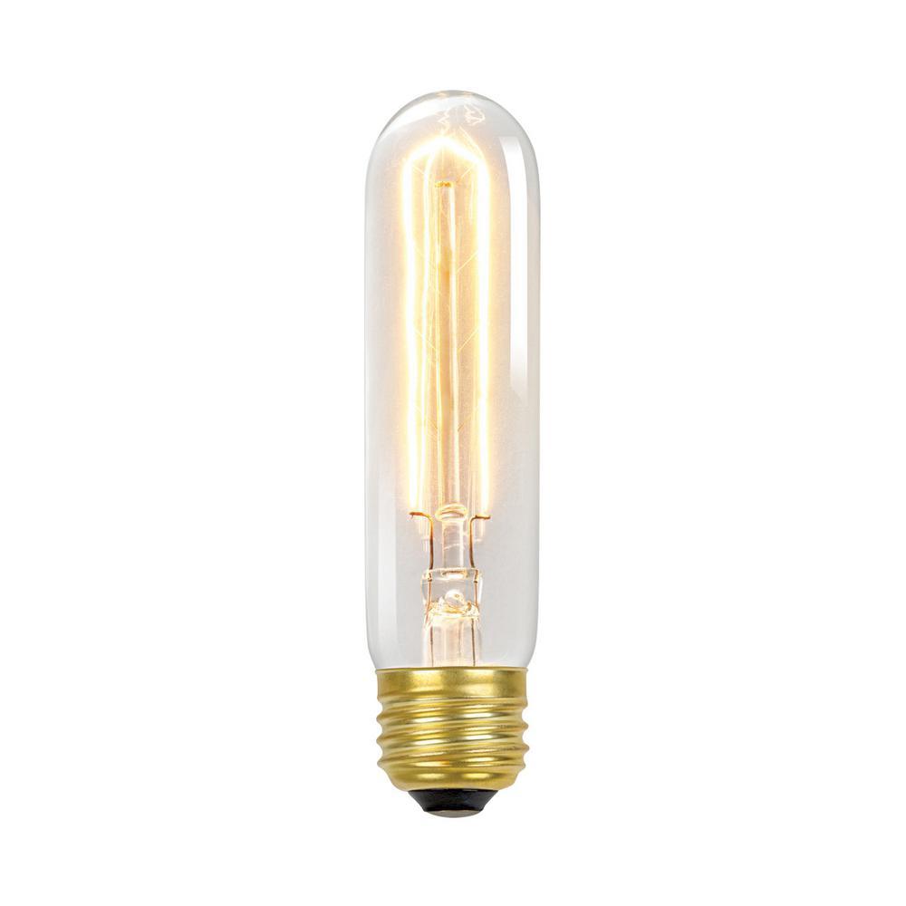 60-Watt Incandescent T10 Antique Style Radio Tube Medium Base Light Bulb - Vintage Style Light Bulb