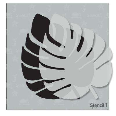 Monstera Tropical Leaf Small Stencil