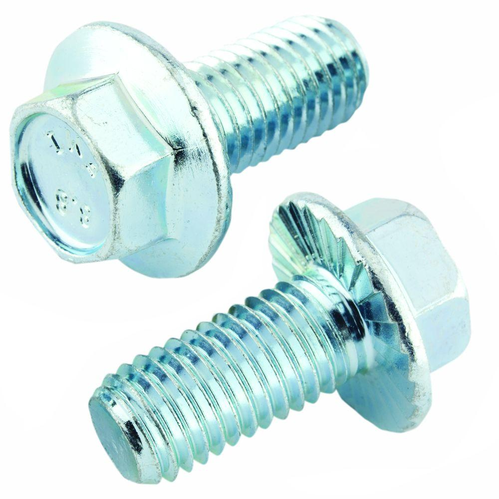 Crown Bolt M8 1 25 X 12 Mm Zinc Hex Head Metric Serrated