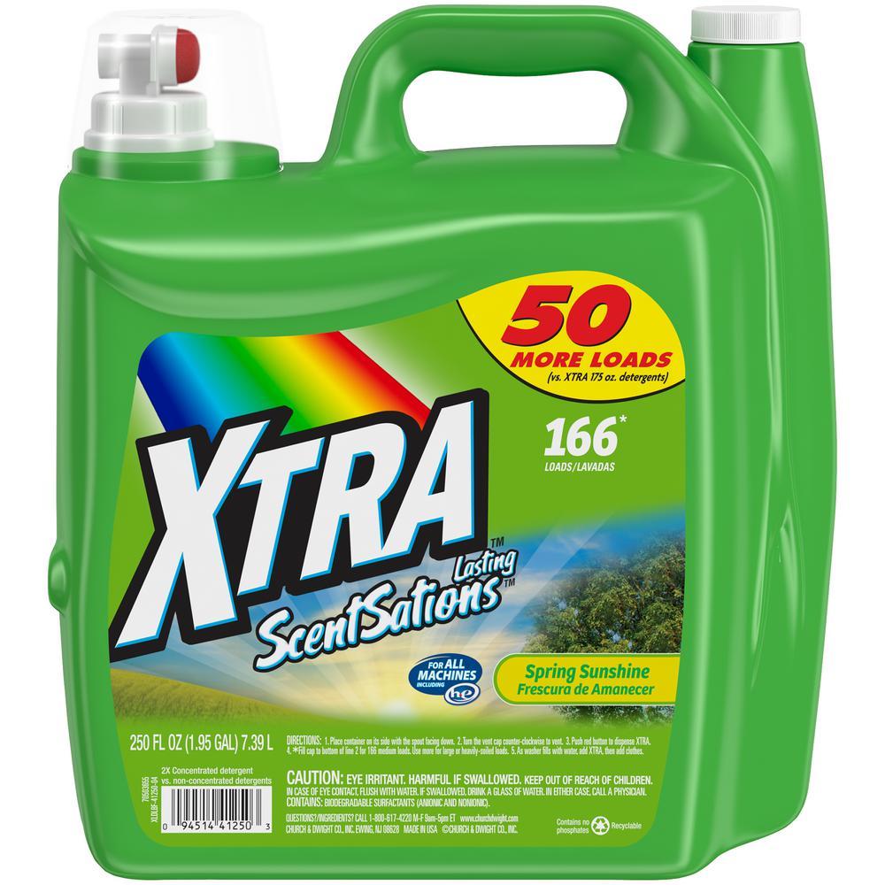 250 oz. Spring Sunshine 2X Liquid Laundry Detergent