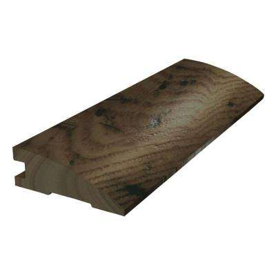 Chocolate Saddle 3/8 in. Thick x 1.5 in. Wide x 78 in. Length Flush Reducer Molding