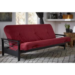 buy online 53c21 106a6 DHP 6 in. Coil Futon Full Size Mattress with CertiPUR-US ...
