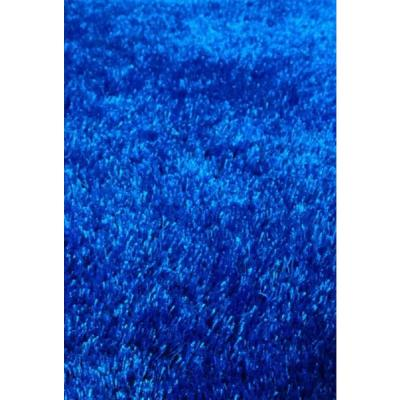 """""""Fuzzy Shaggy"""" Hand Tufted Area Rug in Electro Blue (8-ft x 11-ft)"""