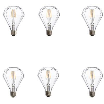 Varaluz 25W Equivalent Warm White Facet Dimmable LED Light Bulbs (6-Pack)
